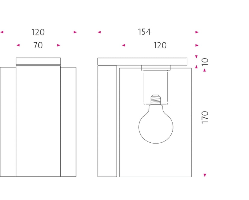 Mawa Design - Open Air 1 Außenwandleuchte - 4