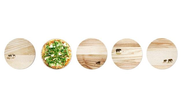 Pension für Produkte - Pizzabrett - Esche - Ziege - 2