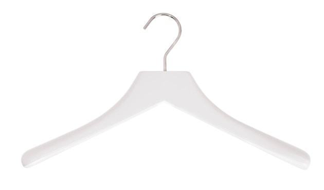 Schönbuch - 0112.Kleiderbügel - Chrom glänzend - .54 schneeweiß - 1
