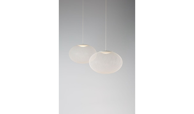 Moooi - NR2 LED Medium Pendelleuchte - weiß  - 2