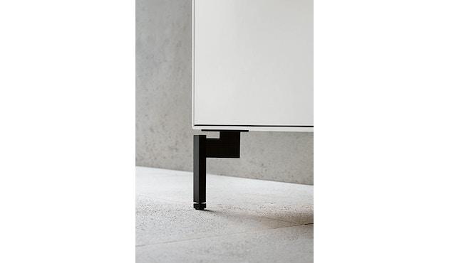 Piure - NexPur Box Kombifuß - schwarz 2er Set - 9