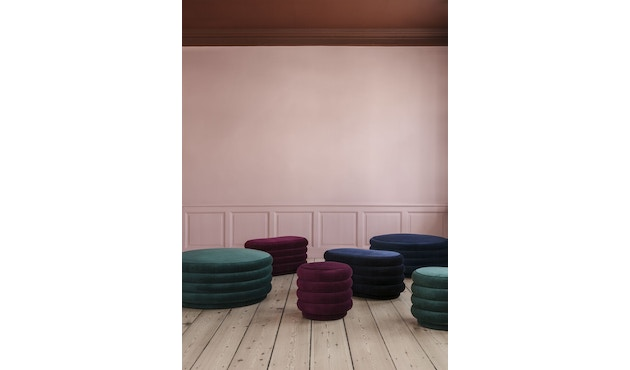ferm LIVING - Poef rond - 3