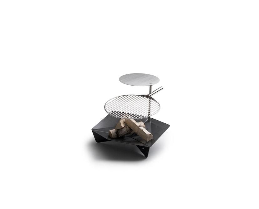 Höfats - TRIPLE Vuurschaal & Grill - Ø 65 cm - 2
