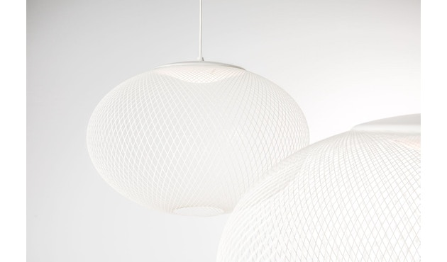 Moooi - NR2 LED Medium Pendelleuchte - weiß  - 1