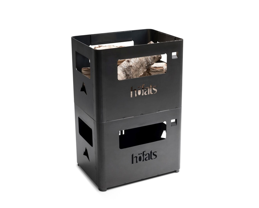 Höfats - BEER BOX Bierkiste / Feuerkorb / Grill / Hocker / Beistelltisch - 4