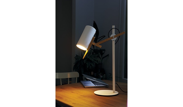 Marset - Scantling S tafellamp - wit - 2