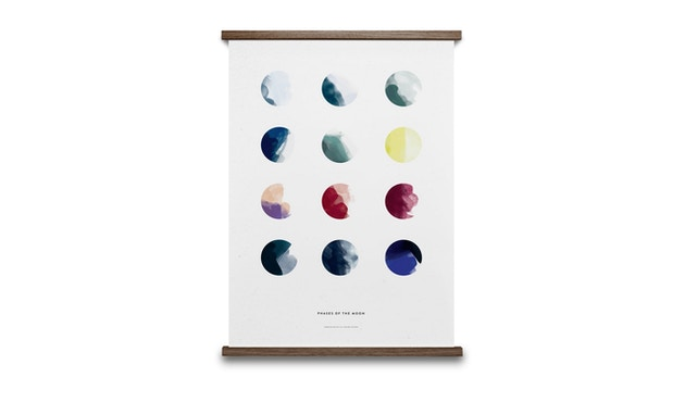 Paper Collective - Moon Phases Poster - 01 - 2