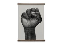 Raised Fist Poster