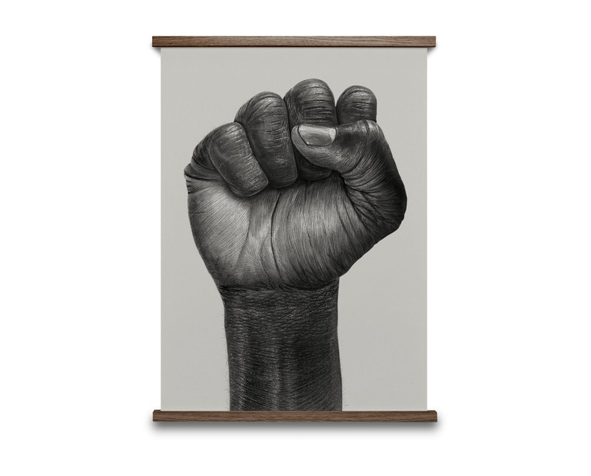 Paper Collective - Raised Fist Poster - 30 x 40 cm - 1