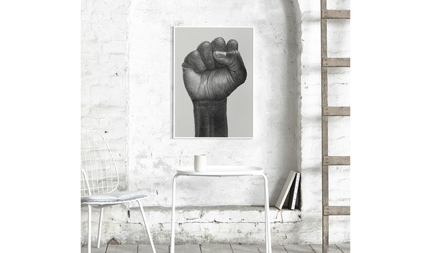 Paper Collective - Raised Fist Poster - 30 x 40 cm - 3