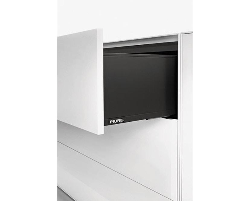 Piure - Nex Pur Box mit Schubkasten - weiß - B120 - H52,5 - 7