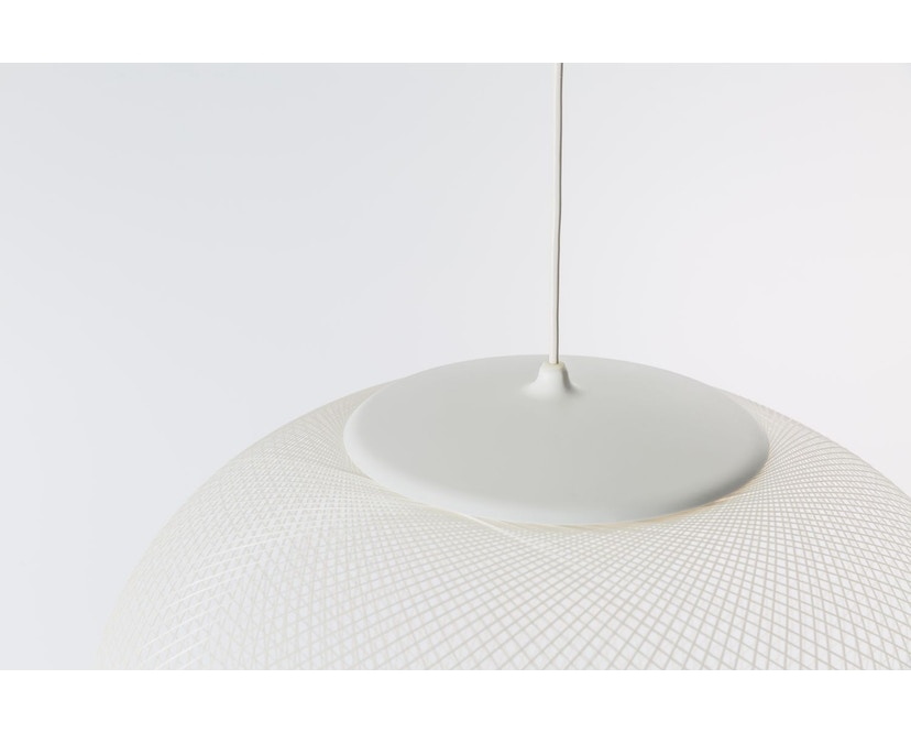 Moooi - NR2 LED Medium Pendelleuchte - weiß  - 3