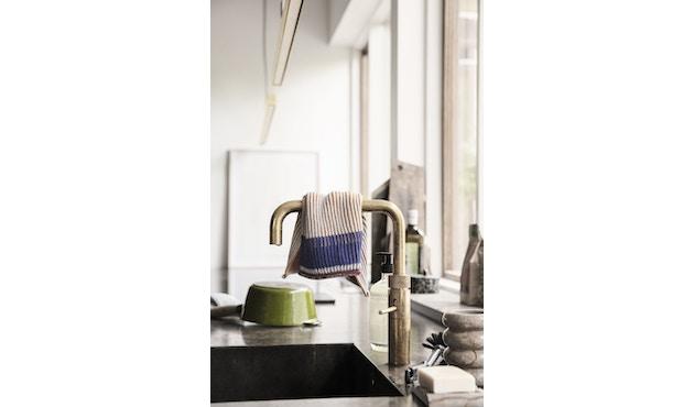 ferm LIVING - Akin Knitted Geschirtuch - Klein- 2er Set - honiggold - 2