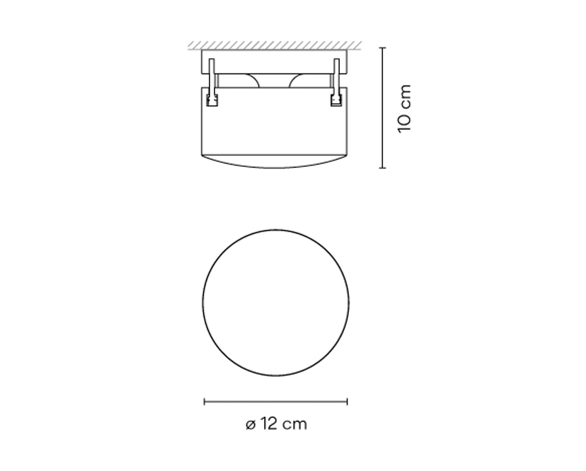 Vibia - Scotch Wand- und Deckenleuchte Indoor - 3