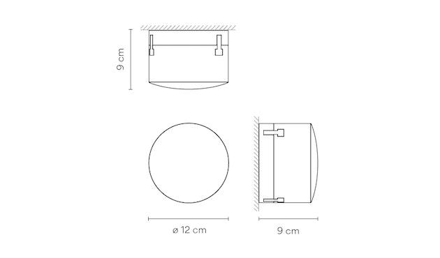 Vibia - Scotch Wand- und Deckenleuchte Outdoor - 5
