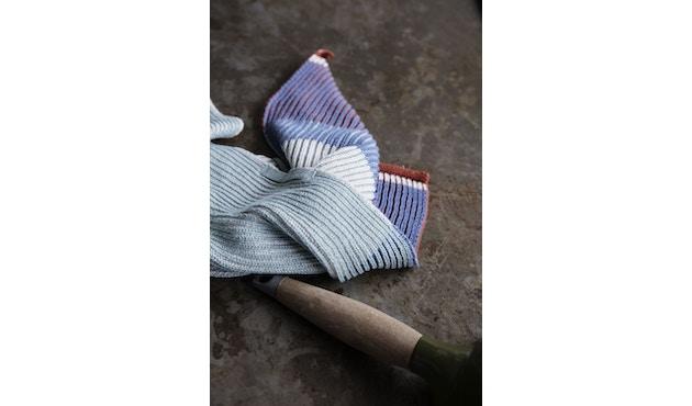 ferm LIVING - Akin Knitted Geschirtuch - Klein- 2er Set - honiggold - 3