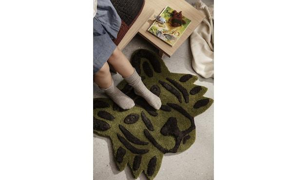 Tufted Tierkopf-Teppich
