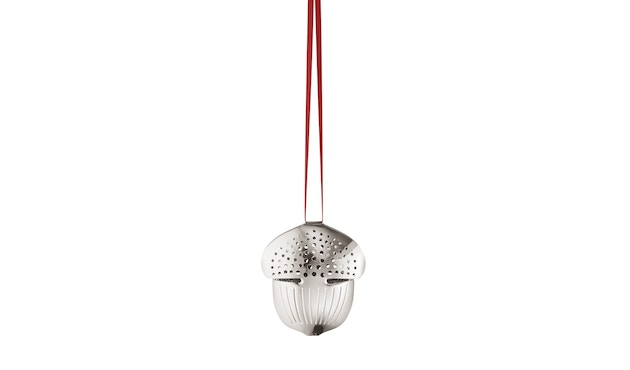 Georg Jensen - Holiday Christbaumkugel - Ornament Eichel - Palladium - 1