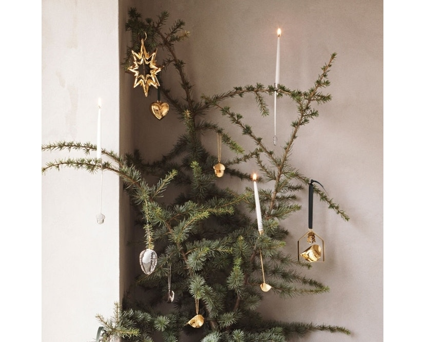 Georg Jensen - Herz Christbaumkugel - Gold - 3