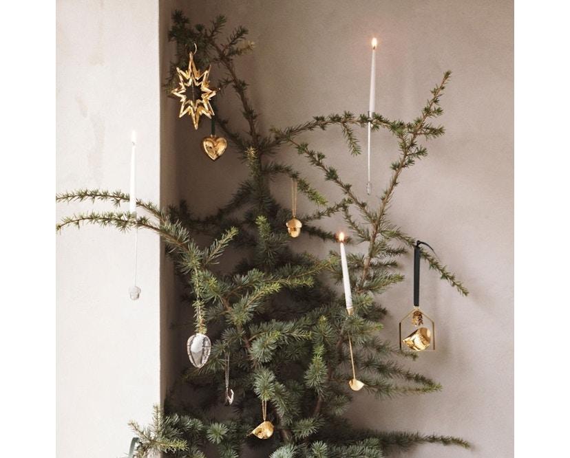 Georg Jensen - Holiday Christbaumkugel - Ornament Eichel - Palladium - 3