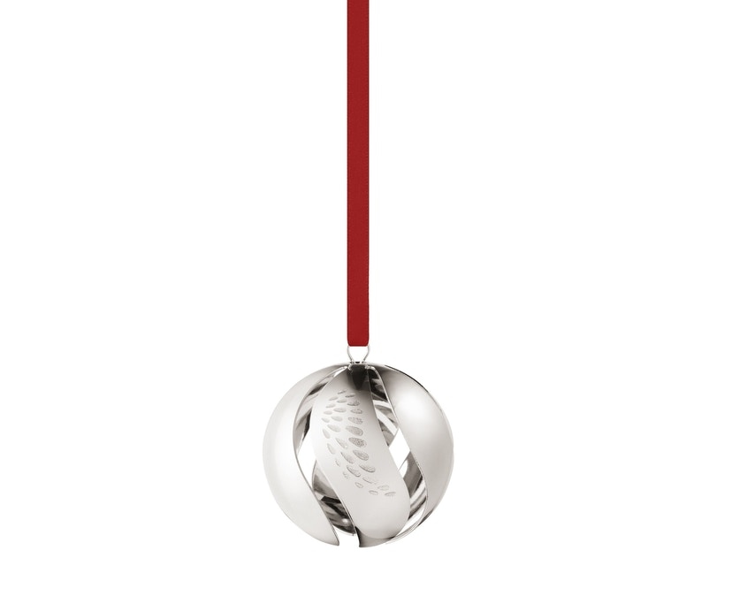 Georg Jensen - Ball Christbaumkugel - Palladium - 1