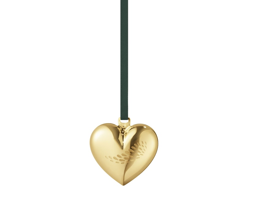 Georg Jensen - Herz Christbaumkugel - Gold - 2
