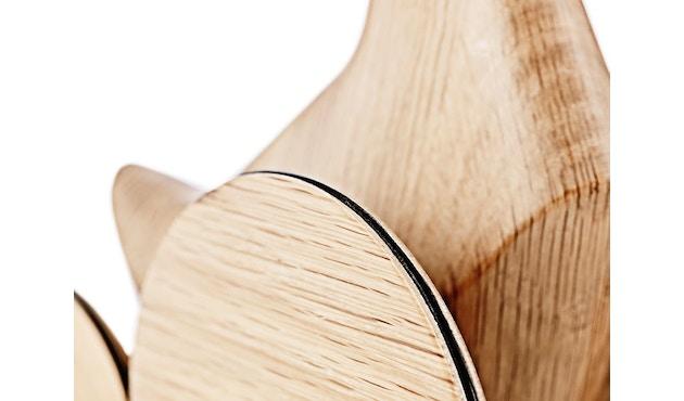 Normann Copenhagen - Ducky houten eend - Eik - 4