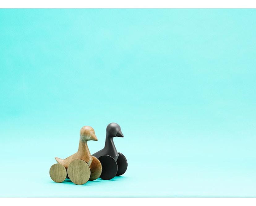 Normann Copenhagen - Ducky Holzente - grau - 4