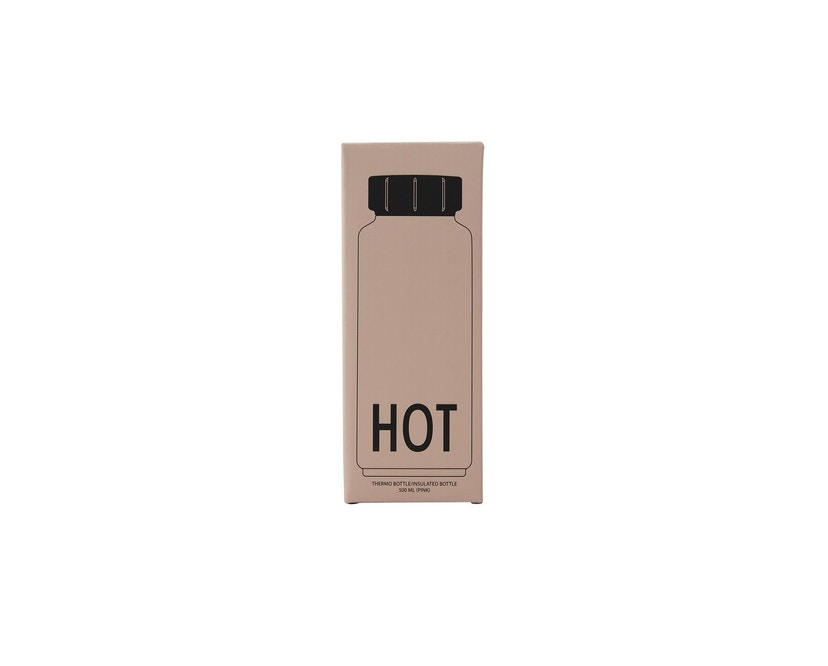 DESIGN LETTERS - HOT Thermosflasche - Pink - 2