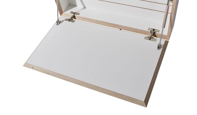 Müller Möbelwerkstätten - FLATBOX Sekretär - weiß - LED Leuchte und Steckdose - 4