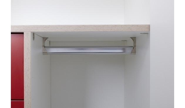 Müller Möbelwerkstätten - Plane Kleiderschrank - reinweiß - 11