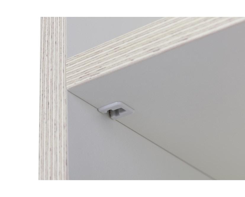 Müller Möbelwerkstätten - Plane Kleiderschrank - reinweiß - 12