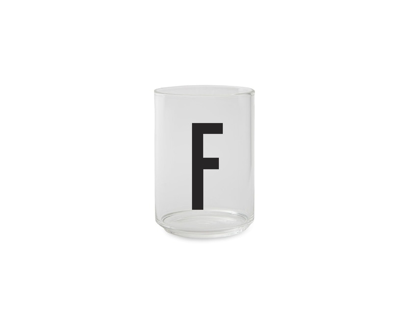 DESIGN LETTERS - Personal Drinkglas  - F - 1