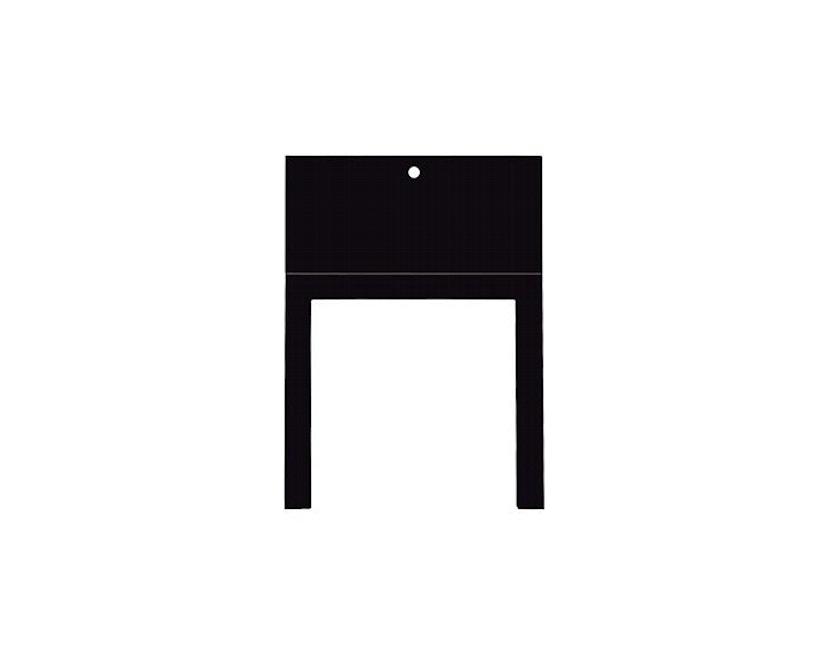 Moormann - Tisch Last Minute - schwarz - 2