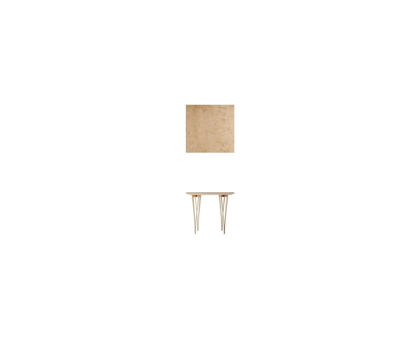 Moormann - Spanoto Tisch - Birke/Birke - S - beige - 1