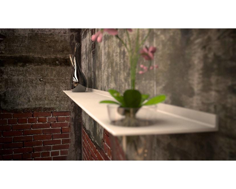 Strackk - Vase wandrek - 110 cm - zwart structuur - 8
