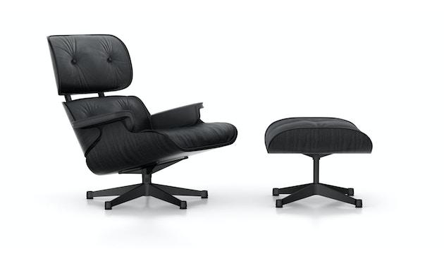 Black Lounge Chair & Ottoman