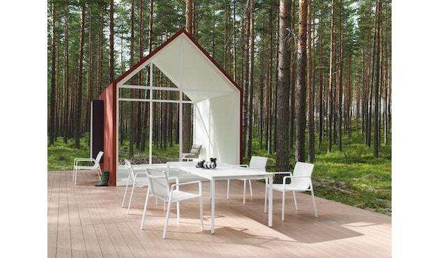 Kettal - Park Life Esstisch - 160 x 94 cm - weißer Marmor - Marmor - 4