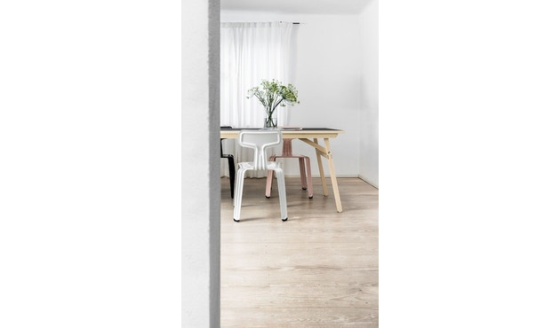 Moormann - Klopstock Tisch S - Melaminharz anthrazit - 3