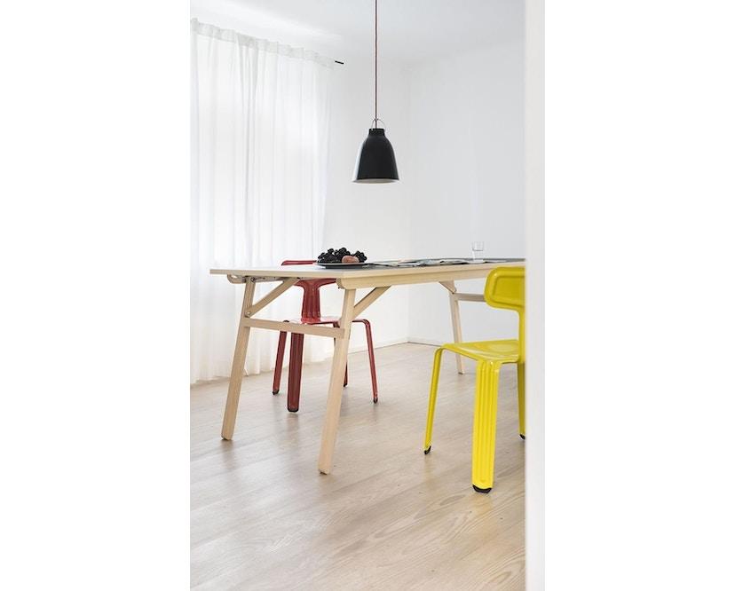 Moormann - Klopstock Tisch S - Melaminharz anthrazit - 5