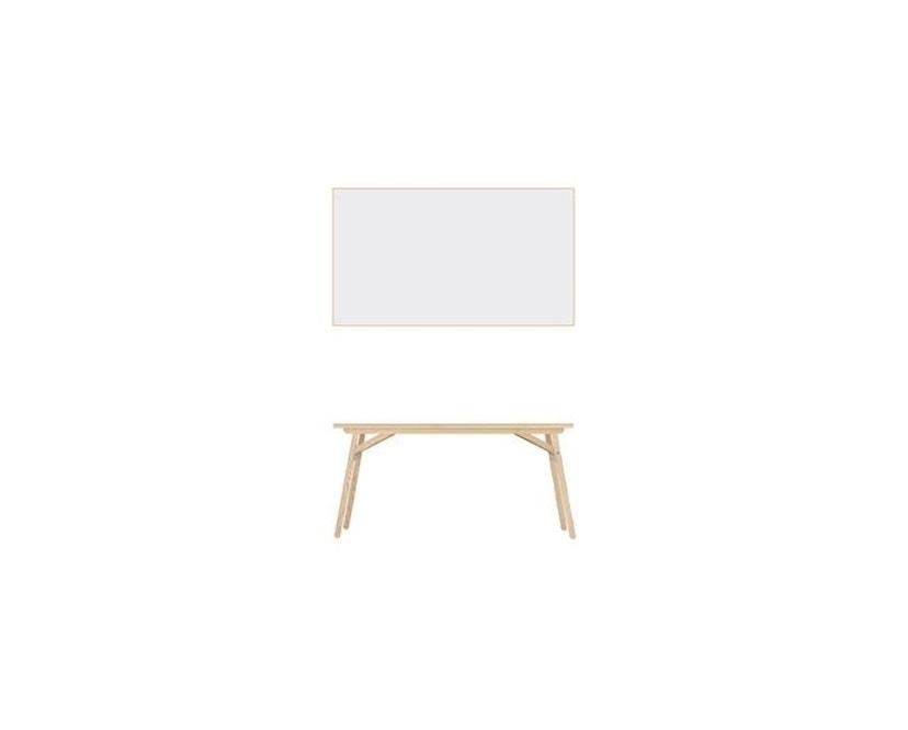 Moormann - Klopstock Tisch S - Melaminharz weiß - 3