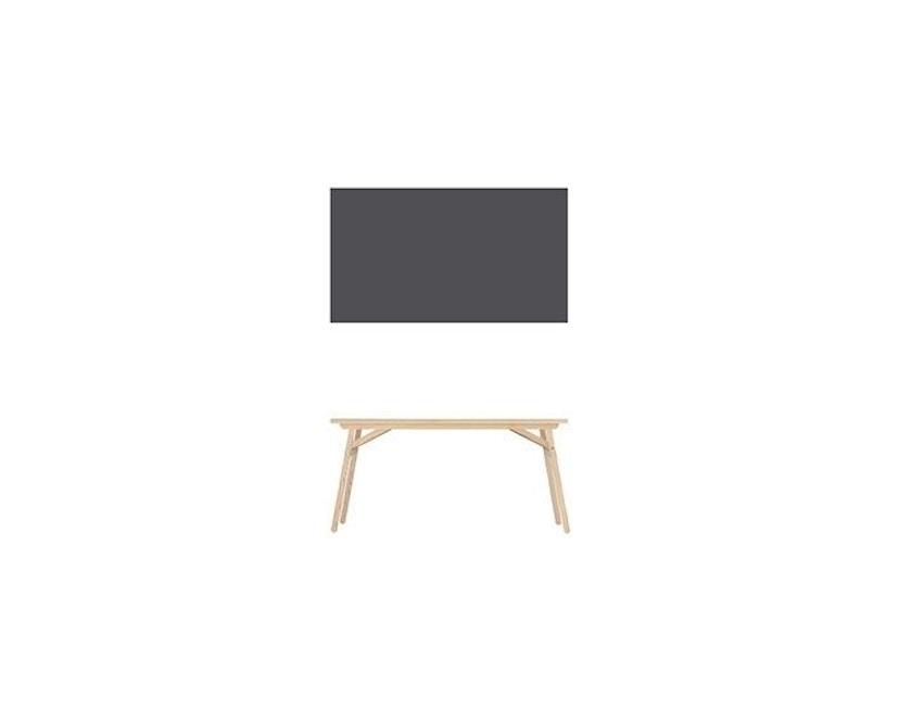 Moormann - Klopstock tafel L - antraciet - 160 x 90 cm - 2