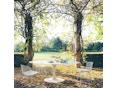 Knoll International - Saarinen Outdoor Eettafel - ovaal - 4