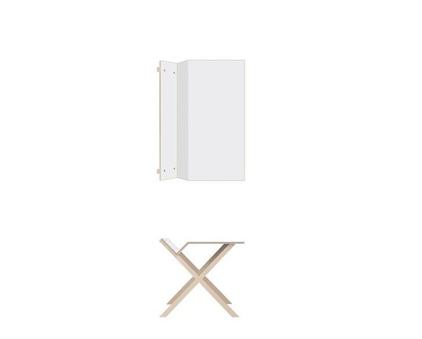 Moormann - Kant Tisch - klein/weiß - 3