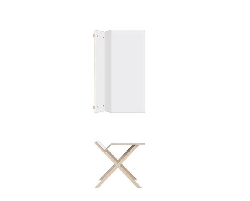 Moormann - Kant Tisch - groß/weiß - 3