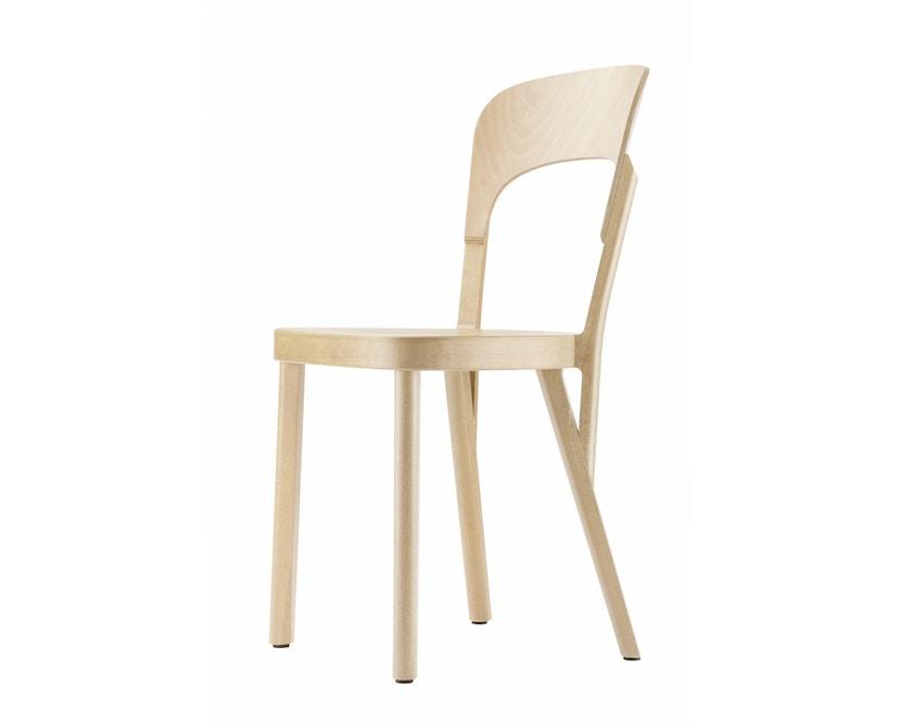 Thonet - 107 Stuhl - aufgehellt gebeizt - 0