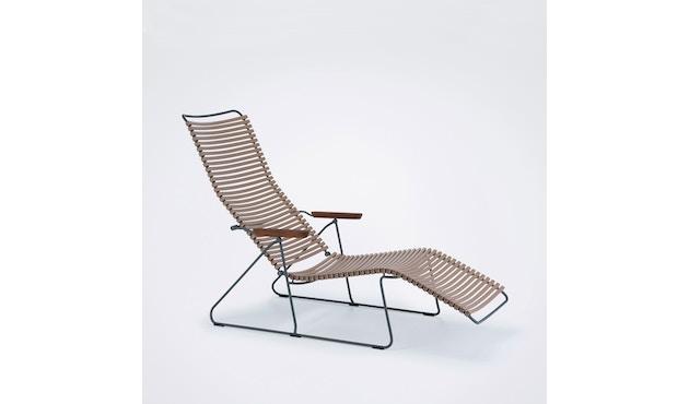 Click Sunlounger ligstoel