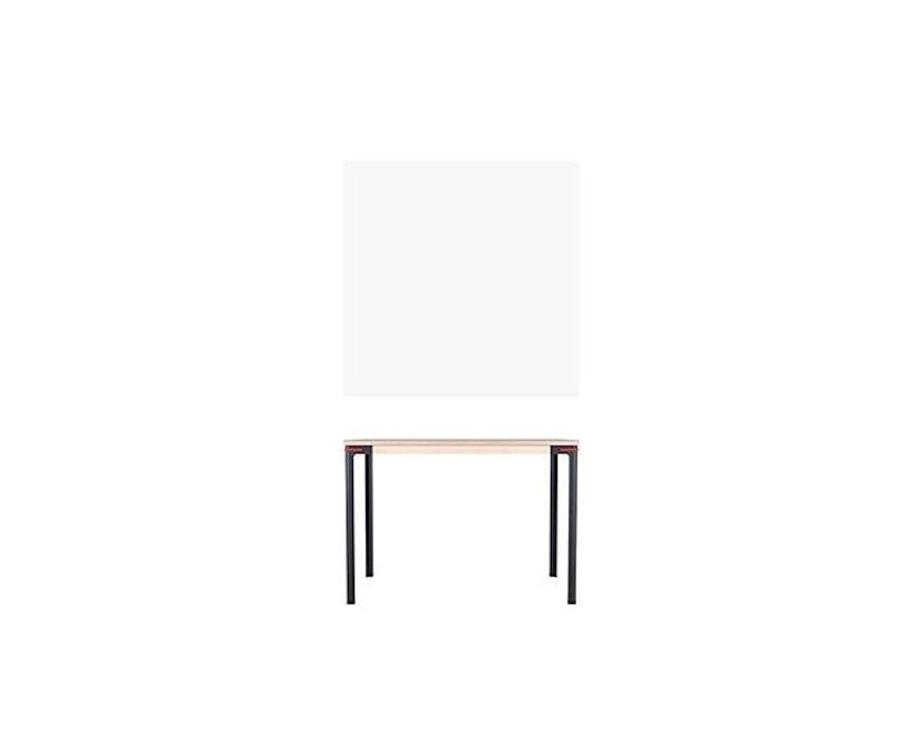 Moormann - Seiltänzer Tisch - Laminat weiß rotes Seil - 90 x 90 - 5