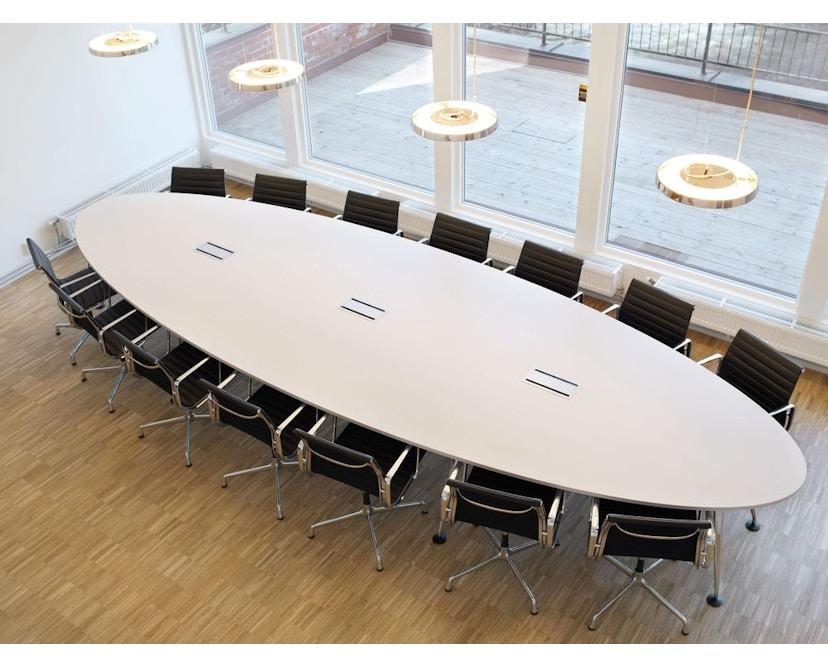 Vitra - MedaMorph Konferenztisch bootvormig - 3