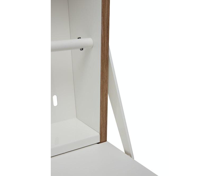 Müller Möbelwerkstätten - Workout Wandsecretaire - CPL wit met berk - 11